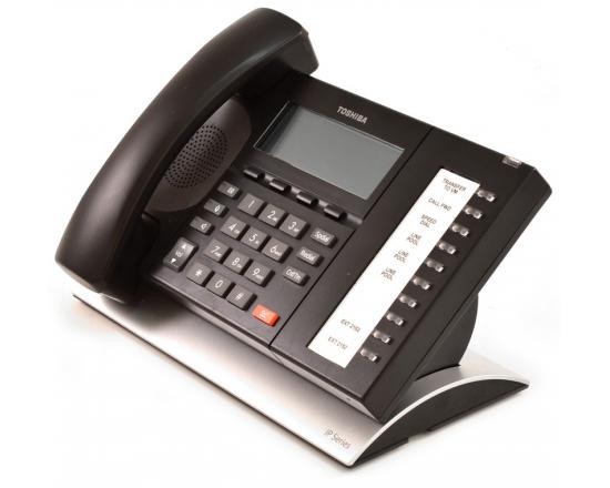 Toshiba Strata IP5522-SD 10-Button Black IP Speakerphone - Grade A