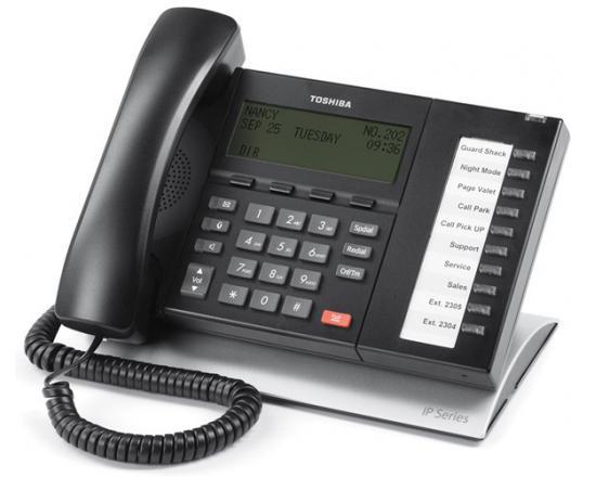 Toshiba Strata IP5022-SD 10-Button Display IP Speakerphone