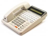 Panasonic KX-T7130 White LCD Display Speakerphone - Grade A