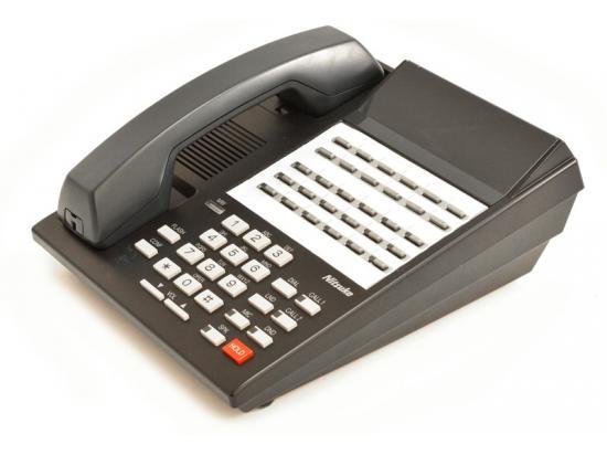 NEC Nitsuko 124i/384i DX2NA-18CTUH 28-Button Black Non-Display Speakerphone (92760)