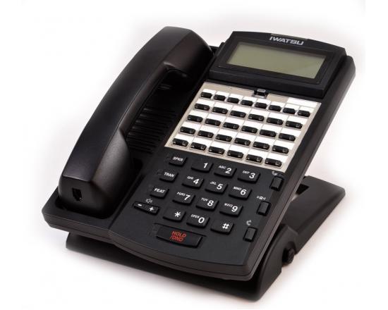 Iwatsu Omega-Phone ADIX IX-24KTD-3 Black Display Speakerphone (104204)