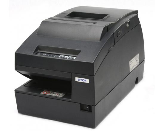 Epson TM-H6000III Monochrome Serial Parallel USB Multifunction Printer (C31C625056) - Black