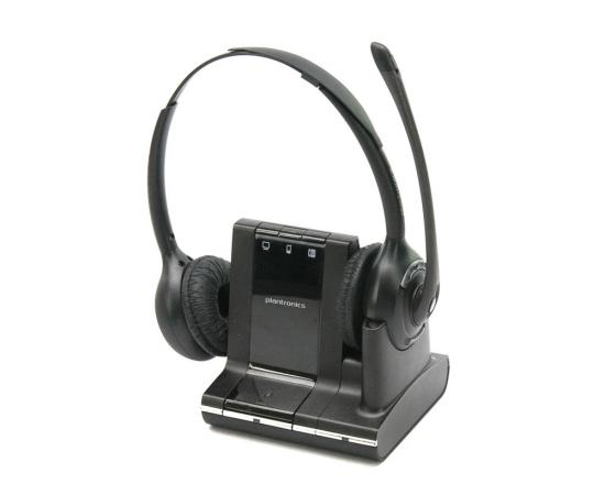 Plantronics SAVI W720 Over-the-Head Binaural Wireless Headset (83544-01)