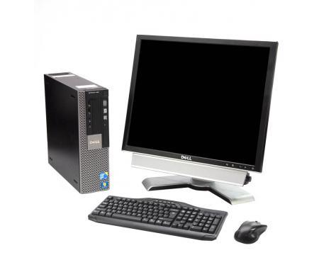 "Dell Optiplex 980 SFF Intel Core i7 (i7-860) 2.8GHz 4GB Memory 250GB HDD 19"" LCD Complete Desktop System"
