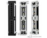 Generic  Cat5e 12 Port Vertical 110-IDC Patch Panel *New*