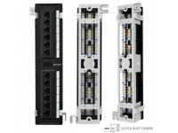 Generic Cat5e 12 Port Vertical 110-IDC Patch Panel