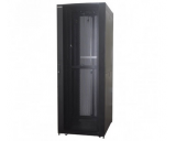 "Generic 46u Server Cabinet 39.37"" Deep With 4-fans Built-In"