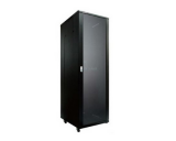 "Generic 42u Data Cabinet 24"" Deep With 2-Fans Built-In"