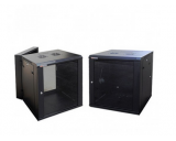 Generic 12u Wall Mount Cabinet with 2 Built-In Fans