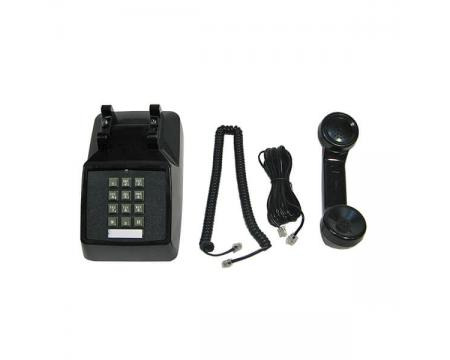 Single Line 2500 Black Analog Desk Phone