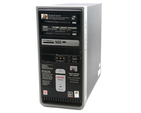 Compaq Presario SR1630NX Desktop AMD 64 Athlon 3500+ 2.2GHz 1GB DDR 250GB HDD