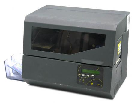 Polaroid P75 Single Sided ID Card Printer with Firmware