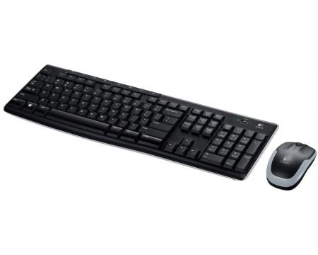 Logitech MK270 Wireless Desktop Keyboard and Mouse