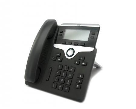 Cisco CP-7841 Charcoal Gigabit IP Display Speakerphone - Grade A