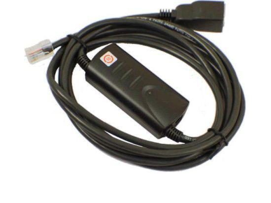 Polycom SoundPoint IP PoE Cable Kit (2200-11077-002, 2457-11077-002)