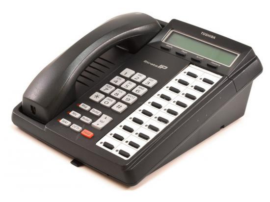 Toshiba Strata IPT1020-SD Charcoal Display Phone