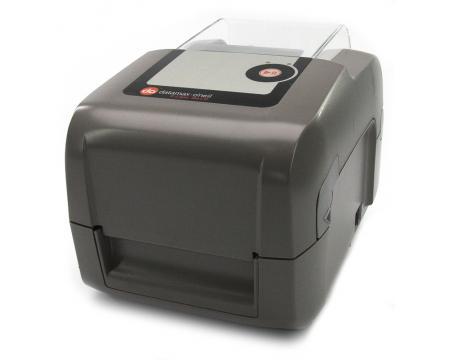 Datamax-O'Neil E-Class Mark III Parallel Ethernet Serial USB Monochrome Thermal Label Printer (E-4305A) - Gray