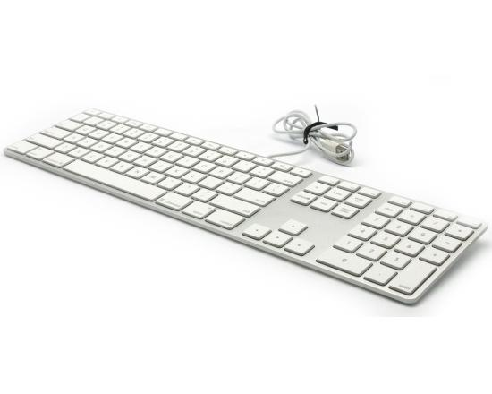 Apple A1243 USB Wired Aluminum Keyboard