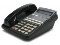 Fujitsu 2-Line 12-Button Black Display Phone (F10B0785B002#BK)