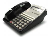 Fujitsu 12-Button Display Black Phone