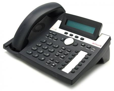 Bizfon BizTouch5 12-Button Black IP Display Speakerphone - Grade A