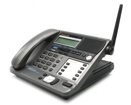 Panasonic Kx Tg2000b 2 Line Cordless Display Phone C Stock