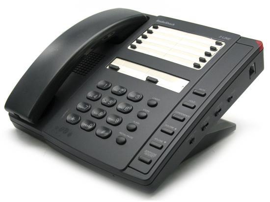 "Radio Shack Black 2-Line Non-Display Speakerphone (ET-1753) ""Grade B"""