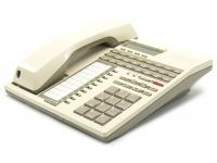 Tie Communications 15718 White 24-Button Display Phone