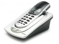 Sylvania STC924 Silver 4-Line Wireless Phone