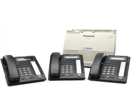 Panasonic KX-TA824 Package w/3 KX-T7731 Phones (KX-TA824PACK)