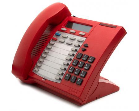 Mitel Superset 4025 Red 22-Button Digital Display Phone (9132-025-602)