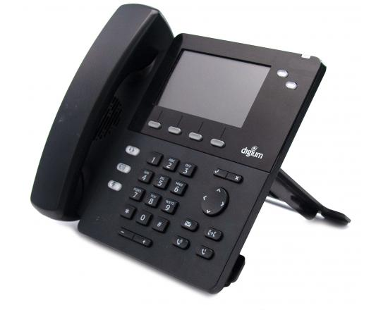 Digium D62 Black 2-Line Display VoIP Speakerphone (1TELD062LF)