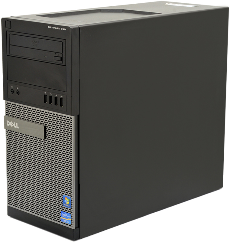 Dell OptiPlex 790 Mini Tower Computer Intel Core i5 (i5-2400) 3 10GHz 4GB  DDR3 250GB HDD from PCLiquidations
