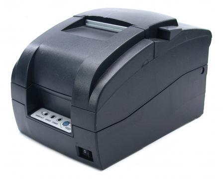 Samsung Bixolon SRP-275 Serial Impact Dot Matrix Receipt Printer (SRP-275CG ) - Dark Grey