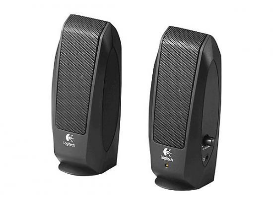 Logitech S-120 Multimedia Speakers