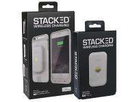 Stacked Wireless Magnetic Charging Kit for iPhone 6/6S - White