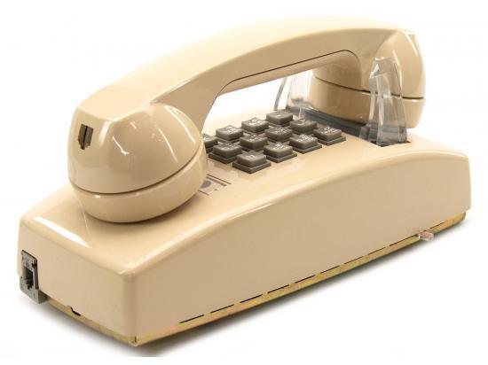 Cortelco 2554 Touchtone Wall Ash Phone (255444-VBA-20M)