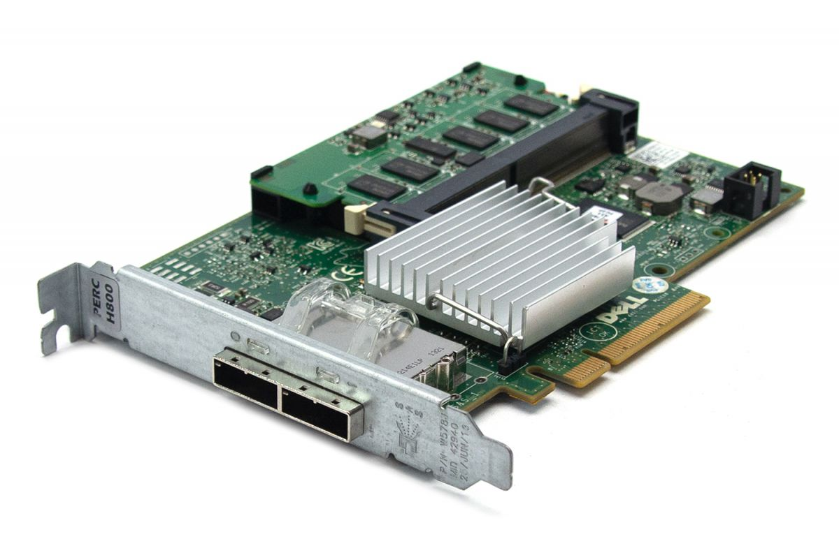 Dell PERC H800 1GB SAS RAID Controller - Full Height from PCLiquidations