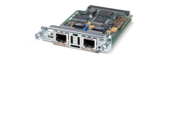 Cisco VWIC2-2MFT-T1/E1 2-Port RJ-48 Multiflex Voice Interface Card