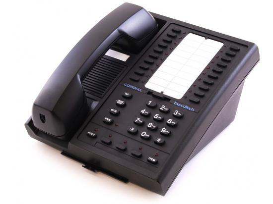 Comdial Executech 6620G-FB Black 20-Button Non-Display Phone