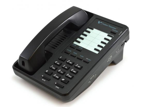 Vertical Starplus Black Single-Line Speakerphone (2802-00)