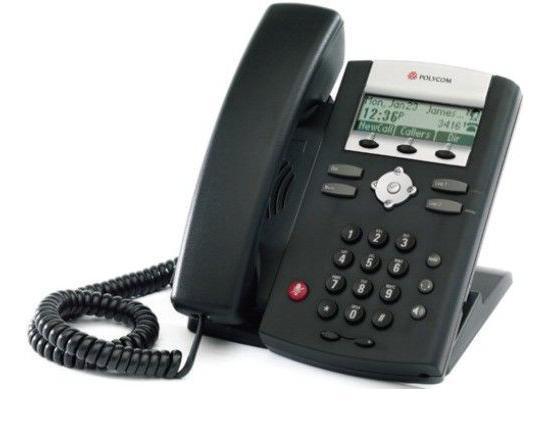 Polycom SoundPoint 331 PoE Display Phone