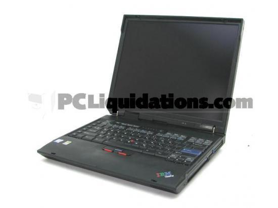 "IBM A31 2652 15"" Laptop Pentium 4 1.60GHz 1GB Memory No HDD"
