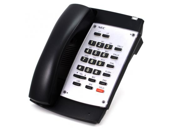 NEC 2 Button Black Hands-Free Phone (0890047) IP1NA-DSLT