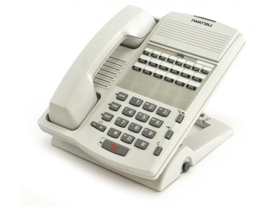 Iwatsu Omega-Phone ADIX IX-12KTS-3 White Digital Speakerphone - Grade A