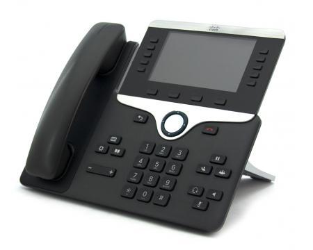 8851 Black IP Display Speakerphone - Grade B