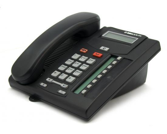 Nortel Bellsouth/Norstar T7208 8-Button Charcoal Phone - Grade A