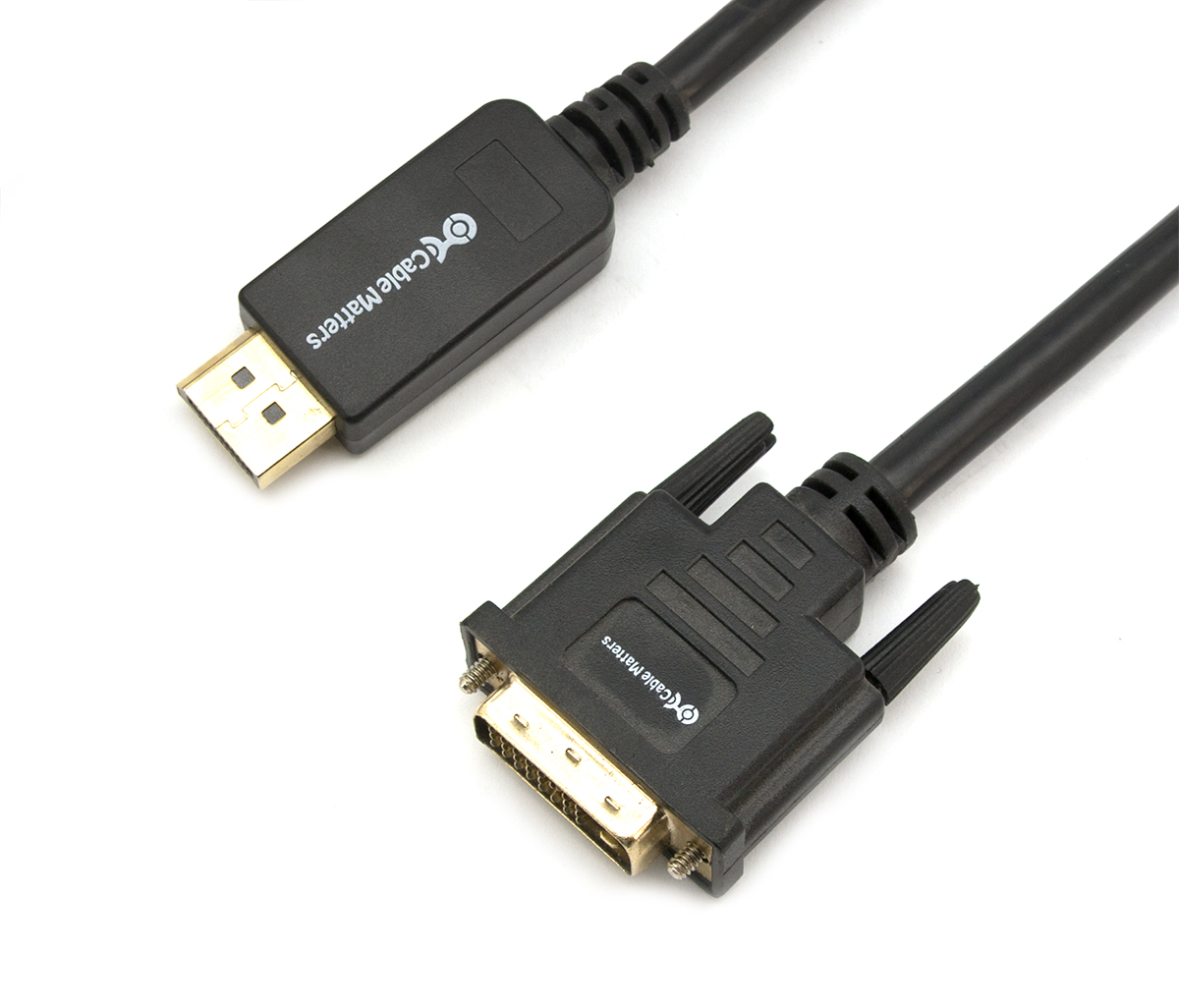 Cable Matters DisplayPort to Mini DisplayPort Adapter DP to Mini DP 6 Inches