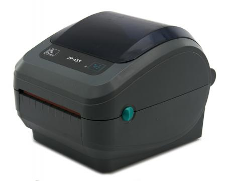 ZP-455 Monochrome Serial Parallel USB Thermal Label Printer