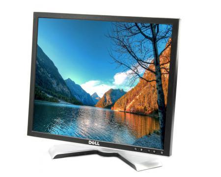 """Dell 1908FP 19"""" LCD Monitor - Grade A Black/Silver"""
